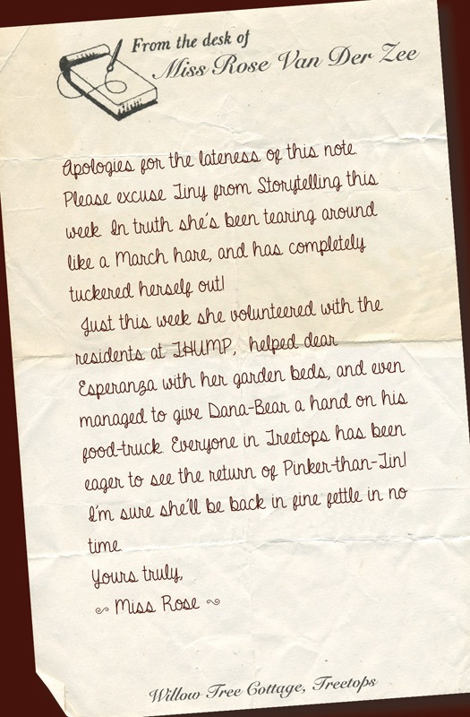 Letters from Miss Rose. Episode: 61